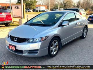 Used 2009 Honda Civic LX|LOW KM|NO ACCIDENT|SUNROOF|BT|CERTIFIED for sale in Oakville, ON
