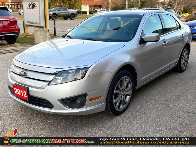 2012 Ford Fusion SEL|LOW KM|LEATHER|SUNROOF|AWD|BLUETOOTH|CERTIFIED