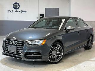 Used 2015 Audi S3 TECHNIK|NAV|BACK UP|BSM|DRIVE SELECT|ACCIDENT FREE for sale in Oakville, ON