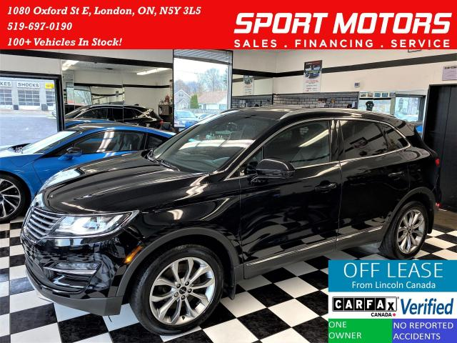 2017 Lincoln MKC Select AWD+Blind Spot+Roof+ApplePlay+ACCIDENT FREE