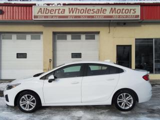 Used 2019 Chevrolet Cruze LT for sale in Edmonton, AB