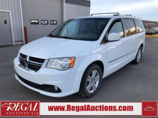 Used 2017 Dodge Grand Caravan Crew 4D Wagon 3.6L for sale in Calgary, AB