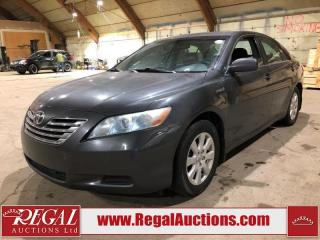 Used 2007 Toyota Camry Hybrid 4D Sedan for sale in Calgary, AB