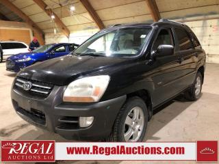 Used 2006 Kia Sportage LX 4D Utility 4WD for sale in Calgary, AB