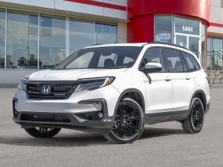 New 2021 Honda Pilot Black Edition for sale in Winnipeg, MB