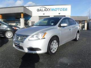Used 2015 Nissan Sentra SV-HEATED SEATS, BLUETOOTH, USB for sale in Duncan, BC