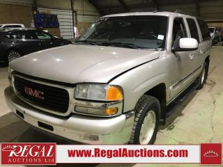 Used 2004 GMC Yukon XL 1500 SLT 4D Utility for sale in Calgary, AB