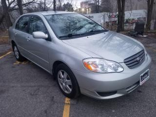 Used 2003 Toyota Corolla LE-LOW KILOMETERS, CERTIFIED for sale in Mississauga, ON