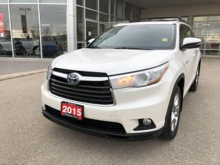 Used 2015 Toyota Highlander LIMITED  for sale in Winnipeg, MB