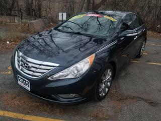 Used 2012 Hyundai Sonata LIMITED, NAVIGATION, LEATHER, PANORAMIC ROOF, CERT for sale in Mississauga, ON