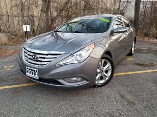 Used 2013 Hyundai Sonata LIMITED, NAVIGATION,LEATHER,PANAROMIC ROOF,REARCAM for sale in Mississauga, ON