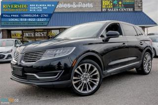 Used 2016 Lincoln MKX Reserve for sale in Guelph, ON
