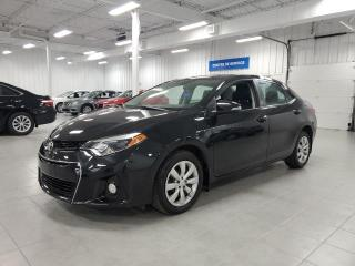 Used 2016 Toyota Corolla S - CAMERA DE RECUL + SIEGES CHAUFFANTS !!! for sale in Saint-Eustache, QC