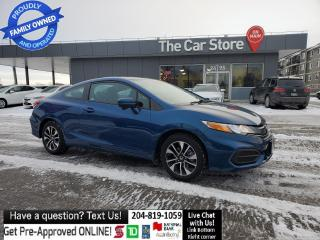 Used 2015 Honda Civic COUPE EX SUNROOF Htd Seat Bluetooth Rear Cam Clean title for sale in Winnipeg, MB
