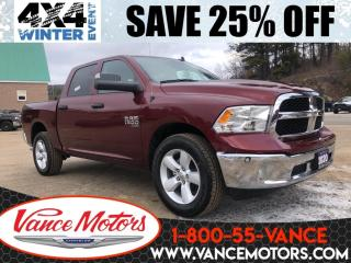 New 2020 RAM 1500 Classic SXT Plus Sub Zero 4x4...V6*HTD SEATS*TOW! for sale in Bancroft, ON