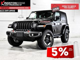 New 2021 Jeep Wrangler Rubicon | Remote Start | Nav | Heated Seats & Whee for sale in Kingston, ON
