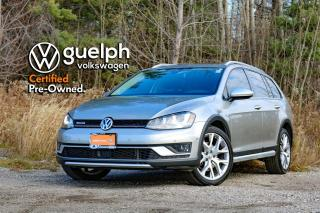 Used 2017 Volkswagen Golf Alltrack | Navigation, Panoramic Roof, Htd Seats, Bluetooth for sale in Guelph, ON