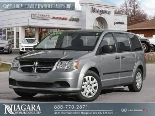 Used 2016 Dodge Grand Caravan SE for sale in Niagara Falls, ON