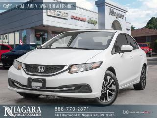 Used 2015 Honda Civic EX for sale in Niagara Falls, ON
