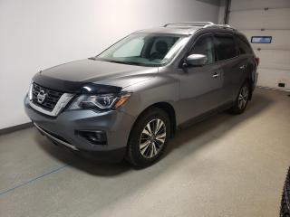 Used 2017 Nissan Pathfinder SL|Htd Leather|Camera|3 Rows|Laoded for sale in Brandon, MB