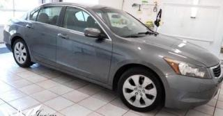 Used 2009 Honda Accord Sedan EX-L|Htd Leather|Local|Sunroof|Alloys|40MPG for sale in Brandon, MB