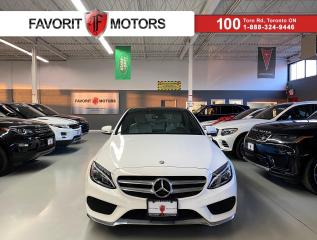 Used 2017 Mercedes-Benz C-Class C300|4MATIC|NAV|AMG ALLOYS|WHITE ON WHITE|DUALROOF for sale in North York, ON