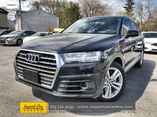 Used 2017 Audi Q7 3.0T Technik ONLY 62KKMS!!  S-LINE  DRIVER'S ASSIS for sale in Ottawa, ON