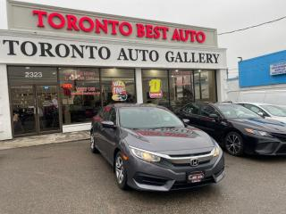 Used 2016 Honda Civic Sedan LX |NO ACCIDENT|BACKUP CAMERA for sale in Toronto, ON