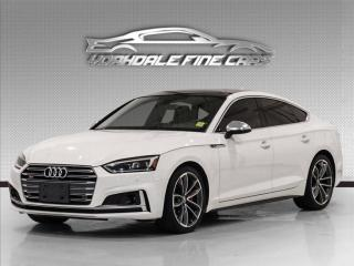 Used 2018 Audi S5 Hatchback 3.0 TFSI  Technik, Red Int, Loaded for sale in Concord, ON