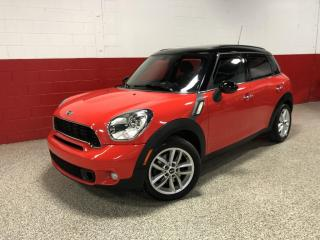 Used 2011 MINI Cooper Countryman S FWD AUTOMATIC PANORAMIC SUNROOF XENON'S BLUETOOTH for sale in North York, ON