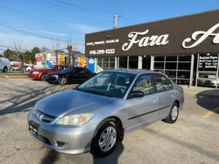 Used 2004 Honda Civic DX-G auto for sale in Scarborough, ON