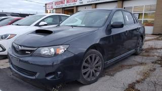 Used 2010 Subaru Impreza 4Dr Sdn WRX for sale in Oakville, ON