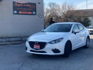 Used 2016 Mazda MAZDA3 4dr Sdn for sale in Barrie, ON
