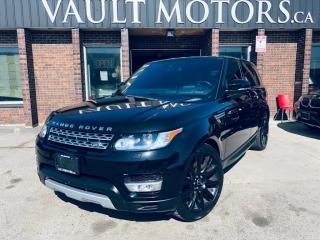 Used 2016 Land Rover Range Rover Sport 4WD 4dr Td6 HSE for sale in Brampton, ON