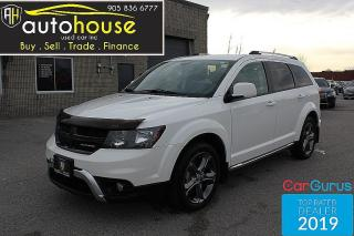 Used 2015 Dodge Journey AWD / CROSSROAD / LEATHER / 7 PASS / BACKUP CAMERA / ALPINE for sale in Newmarket, ON