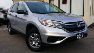 Used 2015 Honda CR-V LX 2WD -BACK-UP CAM! HEATED SEATS! ACCIDENT FREE! for sale in Kitchener, ON