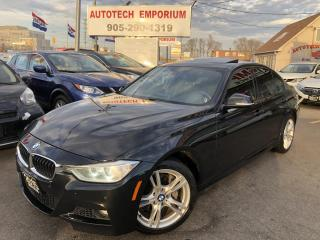 Used 2015 BMW 3 Series 328xi AWD M Sport Navi/Sunroof/Leather/Sensors for sale in Mississauga, ON