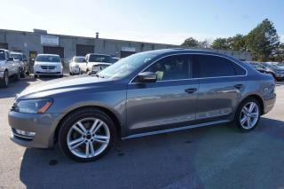 Used 2015 Volkswagen Passat 1.8T HIGHLINE PREMUIM PKG TSI CERTIFIED 2YR WARRANTY NAVI CAMERA HEATED LEATHER SUNROOF BLUETOOTH for sale in Milton, ON