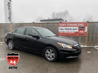 Used 2011 Honda Accord Sedan SE for sale in Brantford, ON