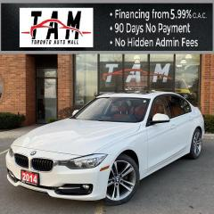 Used 2014 BMW 3 Series 320i Sedan NAVI Sunroof Leather Heated Seats Keyless Entry No Accidents. for sale in North York, ON