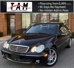 Used 2007 Mercedes-Benz C-Class C280 Luxury Sunroof Leather Heated Seats Clean Carfax No Accident Low Km! for sale in North York, ON