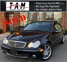 Used 2007 Mercedes-Benz C-Class **SOLD** C280 Luxury Sunroof Leather Heated Seats Clean Carfax No Accident Low Km! for sale in North York, ON