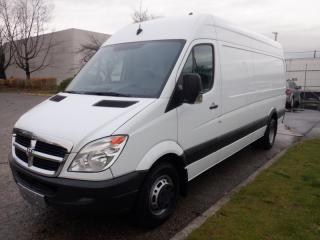 Used 2007 Dodge Sprinter Van High Roof 3500 170-inch Wheelbase Cargo Van Work Shop Cube Van Diesel for sale in Burnaby, BC