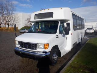 Used 2004 Ford Econoline E-450 13 Passenger Bus with Wheelchair Accessibility for sale in Burnaby, BC