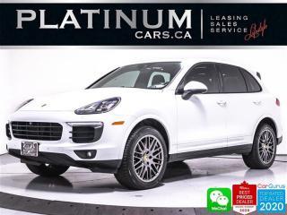 Used 2017 Porsche Cayenne PLATINUM EDITION, PREMIUM PLUS,NAV, PANO, CAMERA for sale in Toronto, ON