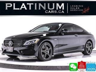 Used 2018 Mercedes-Benz C-Class AMG C 43,362HP, DISTRONIC, NAV,PANO,BURMESTER for sale in Toronto, ON