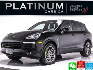 Used 2017 Porsche Cayenne S E-Hybrid,PANO,CAM,BLINDSPOT,HEATED/VENTED SEATS for sale in Toronto, ON