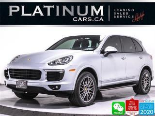 Used 2017 Porsche Cayenne PLATINUM EDITION, NAV, PREMIUM PLUS, PANO, CAM, for sale in Toronto, ON