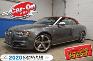 Used 2016 Audi S5 3.0T TECHNIK - VERY UNIQUE COLOR AND OPTION COMBBO for sale in Ottawa, ON