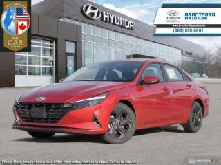 New 2021 Hyundai Elantra Preferred w/Sun & Tech Package IVT  - $146 B/W for sale in Brantford, ON